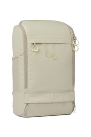 Beige recycled plastic backpack