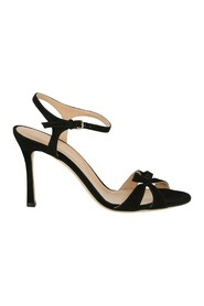 Isobel Knotted Suede Sandals
