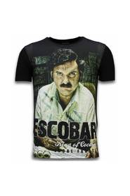 Escobar King Of Cocaine - Digital Rhinestone T-shirt