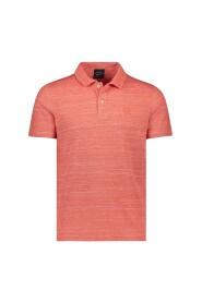 Mélange polo shirt
