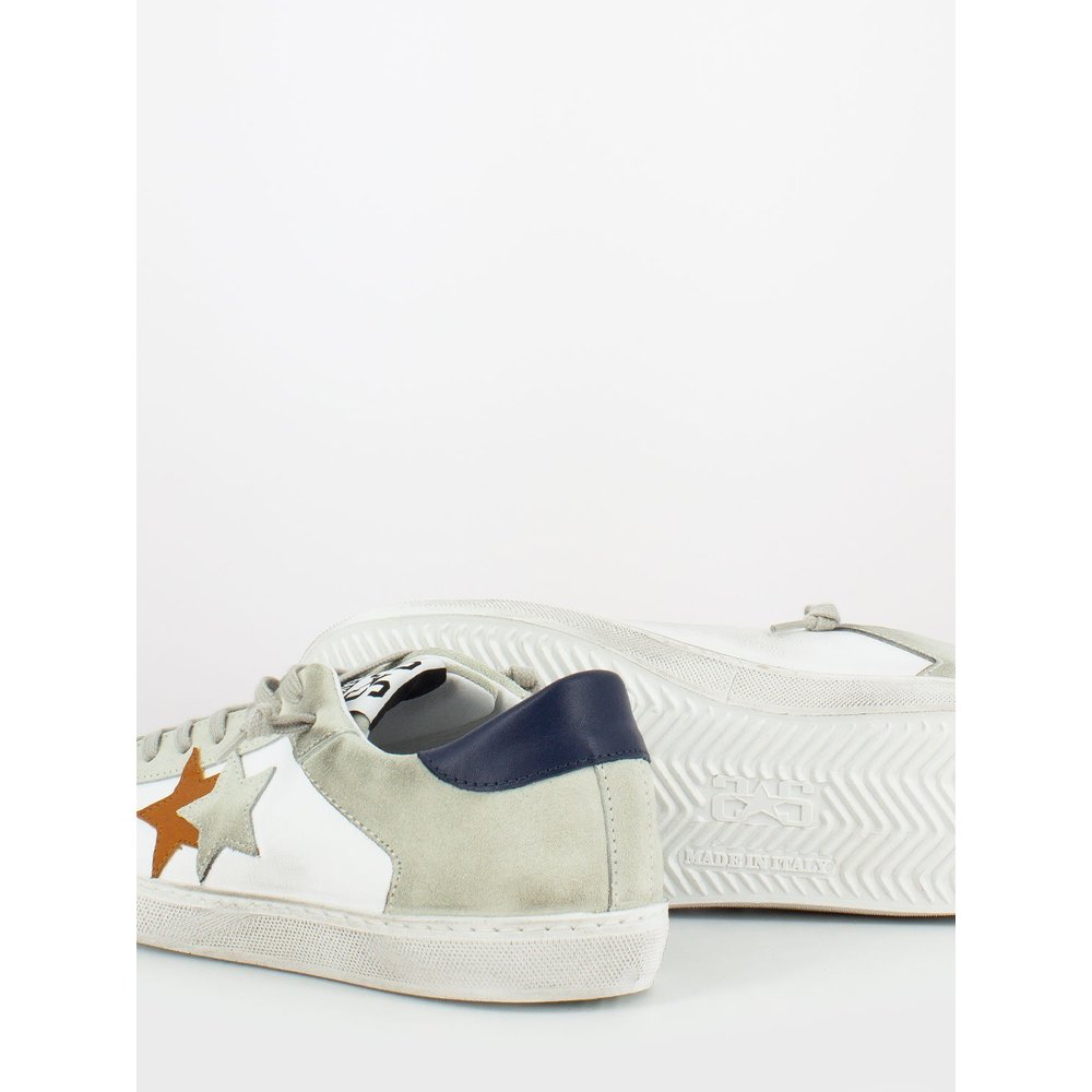 White L100 sneaker | 2STAR | Sneakers | Herenschoenen