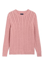 Pink Pure Cable Knitwear