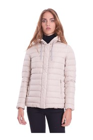 SHORT DOWN JACKET WITH MASTIC HOOD