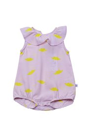 KNAST by KRUTTER - Clown Sunsuit, Lips - Light Rose