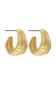 Earrings Audrey Simple Hoop