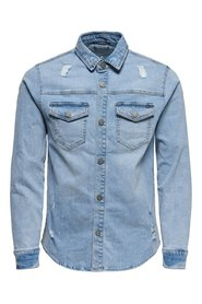 Long sleeved shirt Denim