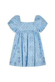 Dotted Embroided Dress 026-3918-026