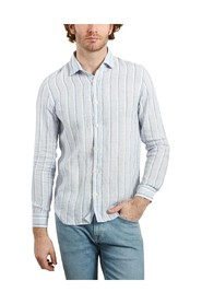 Sammy Linen Striped Shirt