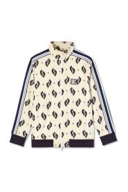 Ikat Jaquard Track Jacket