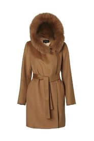 Wełniany płaszcz Lucinda