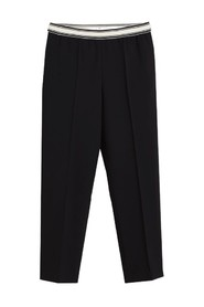 Vlad straight 7/8 trousers with elasticated waist