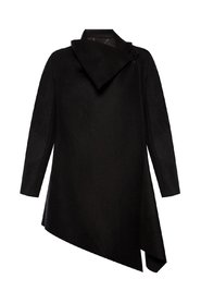 City asymmetrical coat