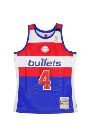 CANOTTA BASKET NBA SWINGMAN JERSEY HARDWOOD CLASSICS NO4 CHRIS WEBBER 1996-97 WASWIZ ROAD