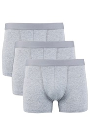 Bread & Boxers 3-Pack Grey Boxer Brief