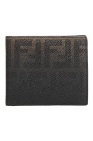 Zucca Coated Canvas Small Wallet