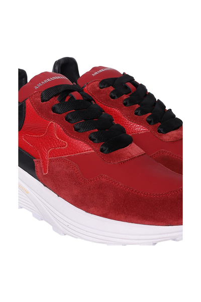 Ama Brand Red Flat Shoes Sneakers - Rood sLlGztE