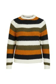 Knitted Pullover striped