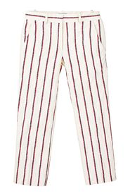 Striped Straight Leg Pants -Pre Owned Condition