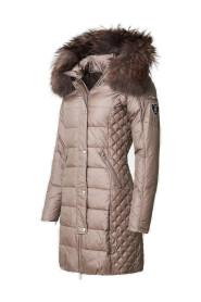 Beam vinterjakke med natur pels