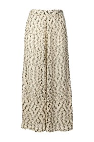 Knitted palazzo pants