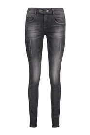 Black denim stonewash jeans OBJUP Object