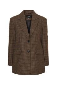 Vmfarrah Ckeck Wool Blazer