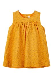 Dress floral print corduroy