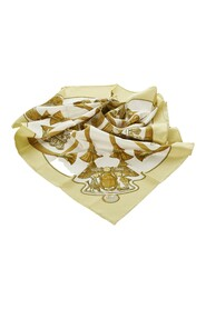 Pre-owned Scarab Silk Scarf