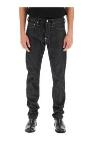 seagull print jeans