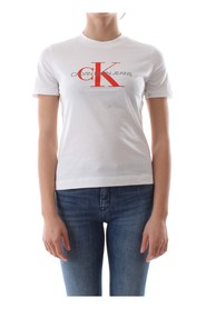 CALVIN KLEIN JEANS J20J208608 MONOGRAN RELAX T SHIRT AND TANK Women BRIGHT WHITE