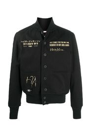 AVIATOR JACKET WITH EMBROIDERY