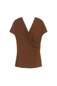 Crepe Top terracotta