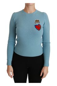 Dronning Heart Pullover Sweater