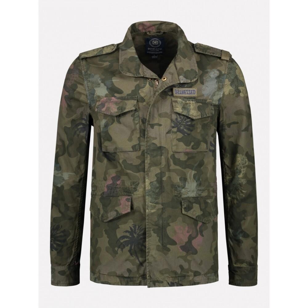 Spijkerjas Camouflage ( - ) Dstrezzed