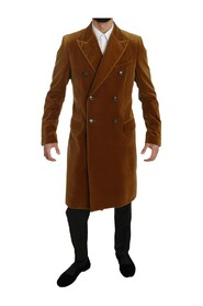 Chartreuse Long Trench Coat