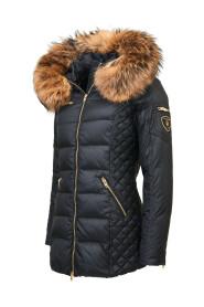 Eve' Jacket Med Natural Fur