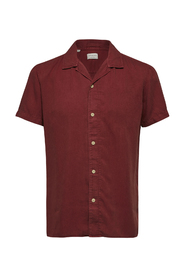 Slhreghalifax Shirt Ss Cuban W