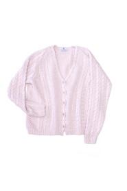 Sweter bawełniany z guzikami