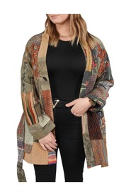 Sofus Patchwork Silk Jacket