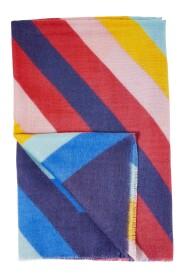 Rainbow Stripe Super Scarf