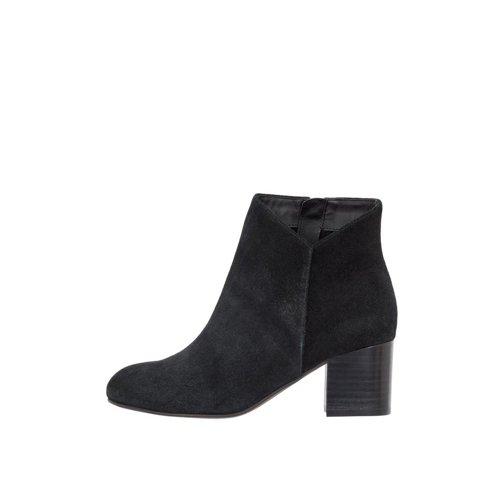 Ankle boots Suede V-cut