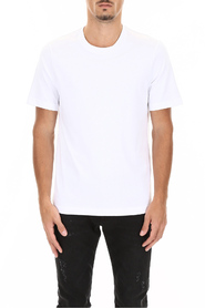 T-shirt with logo on the back