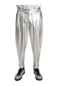 Stretch Shiny Trousers