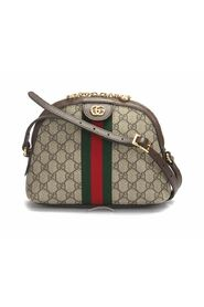 Pre-owned Small Gg Supreme Web Ophidia Shoulder Bag