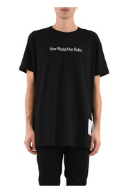 T-shirt Whit Quote And Logo