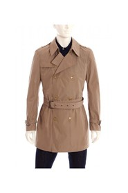 Waterproof double-breasted trench coat