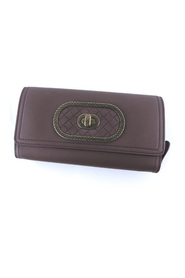 Leather Bifold Long Wallet