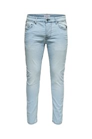 Skinny fit jeans Warp light blue