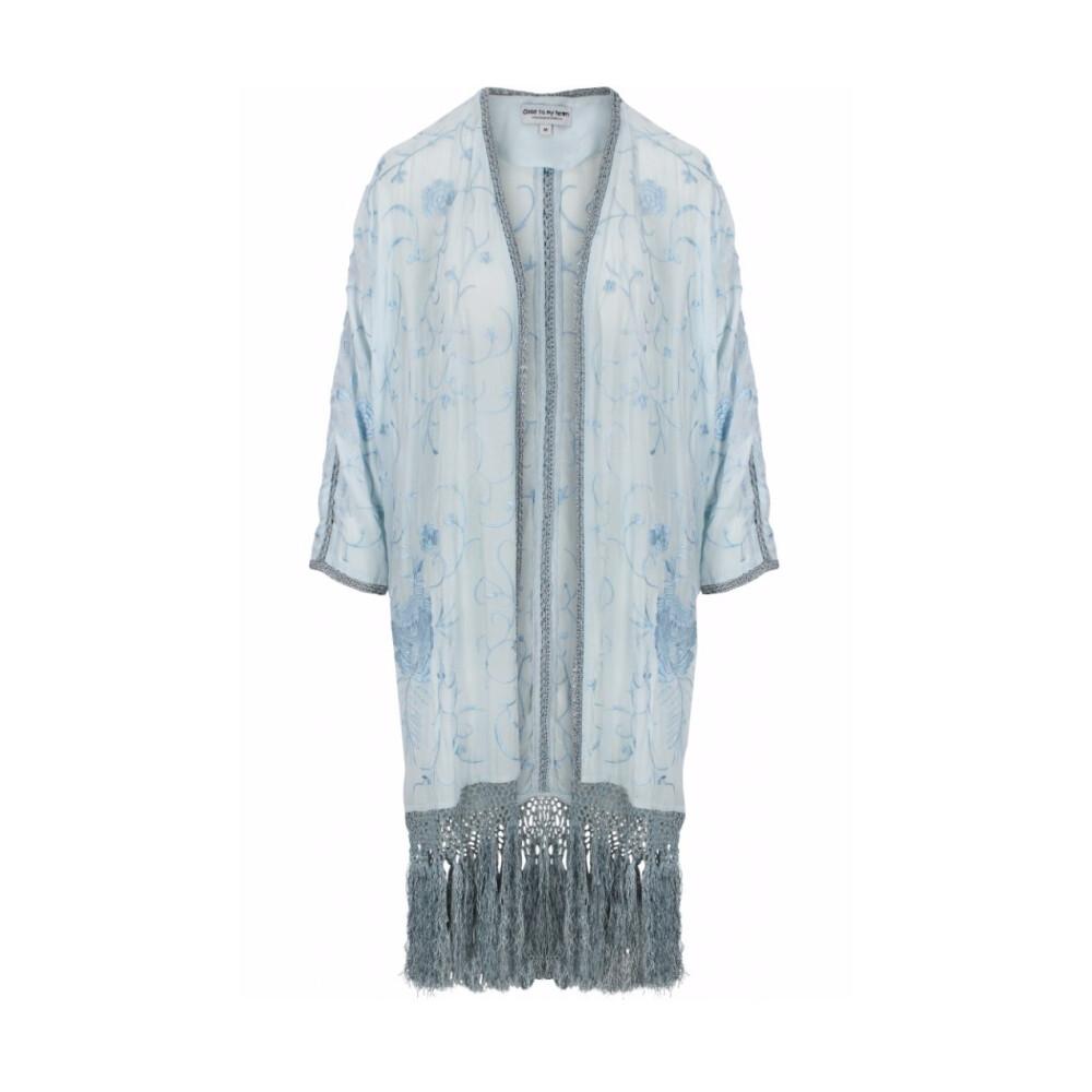 Brown Posie Kimono  Close to my heart  Bluser - Dameklær er billig