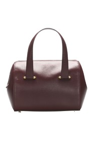 Leather Boston Bag